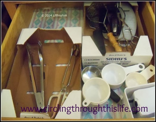 The Kitchen Utensils' New Home Organized
