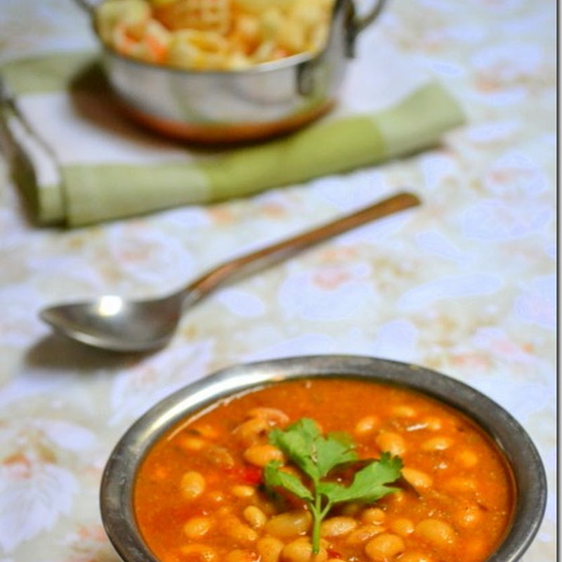 Dry Soya Bean Kurma | Soya Recipes