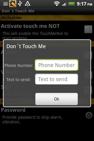 Do not Touch Me- screenshot