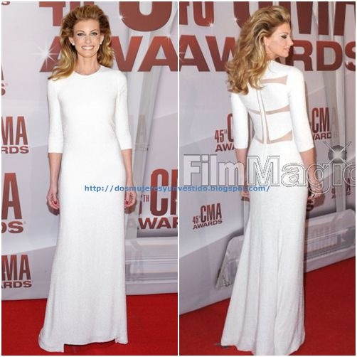Faith Hill 45th Annual CMA Awards Arrivals3