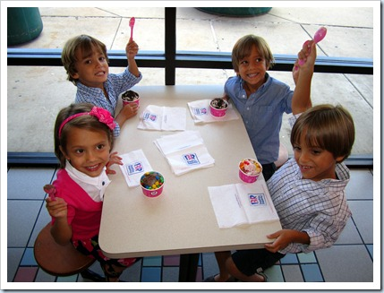 Steece's Pieces: 1st Day of Preschool for the Quads