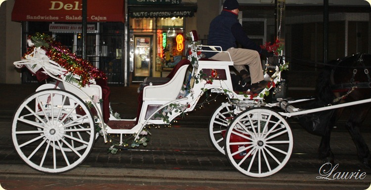 carriage Christmas