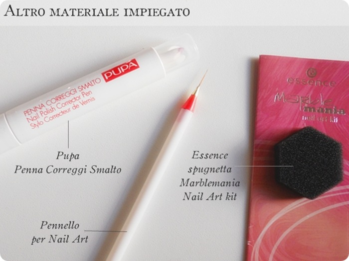 nail art materiale