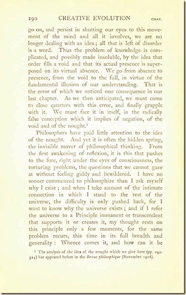 Bergson. Creative Evolution. 1911 creativeevolutio00berguof.test.t_Page_304