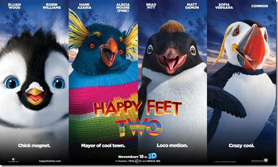 Happy Feet 2 in 3Dbanner