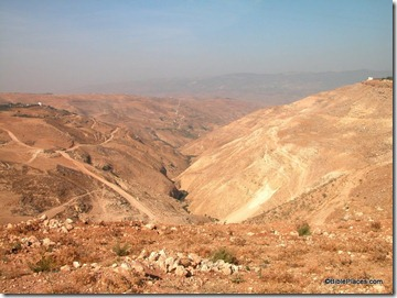 Wadi in Gilead mountains, tb110603119