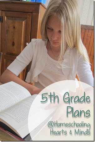 5th grade Learning Plans at Homeschooling Hearts & Minds