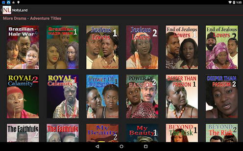 NollyLand - African Movies- screenshot thumbnail