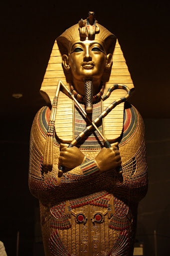 Egyptian Mummy Case A mummy case