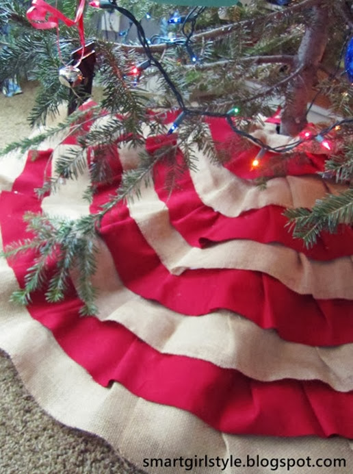 diy no sew tree skirt