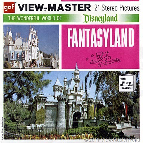 View-Master Fantasyland (A178), Packet Cover