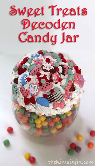 Decoden Candy Jar