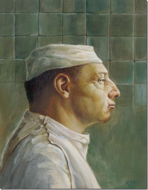 Alfonso Álvarez - Autorretratos ~ Enkaustikos