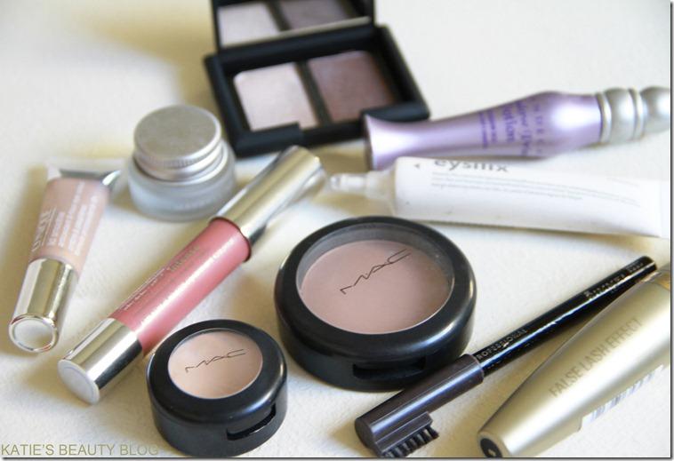 makeup bag favs