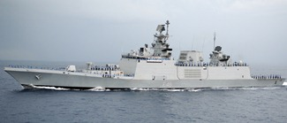 Indian Navy's Shivalik-class Frigate INS Satpura [F48] Wallpaper