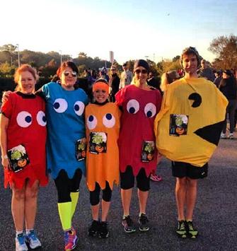 Pacman Race Costume - Jessica Flory