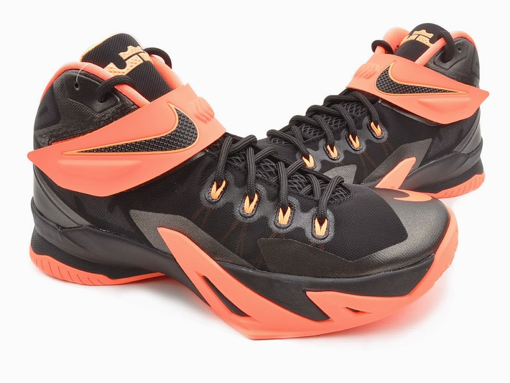 81f51e0cd8596 Upcoming Nike Zoom LeBron Soldier 8 8211 Bright Mango ...