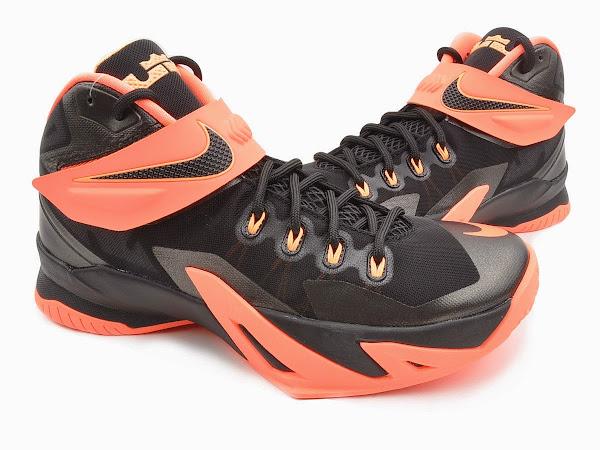 genuine shoes usa cheap sale 100% genuine Upcoming Nike Zoom LeBron Soldier 8 – Bright Mango   NIKE ...