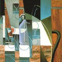 Juan Gris (1913): El sifón. Rose Art Museum at Brandeis University. Waltham. Massachusetts. USA.