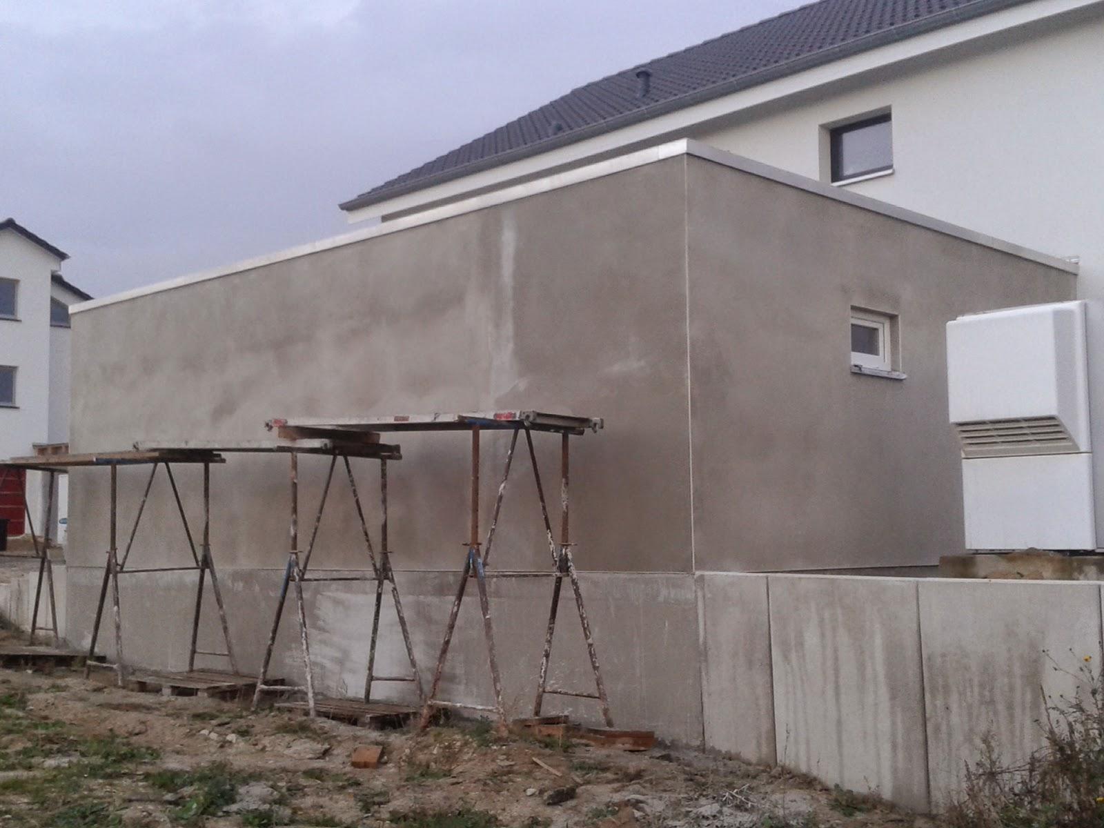 garage streichen aussen. Black Bedroom Furniture Sets. Home Design Ideas
