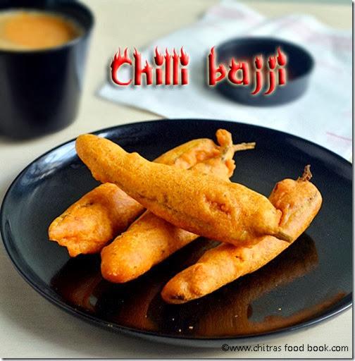 chilli bajji recipe