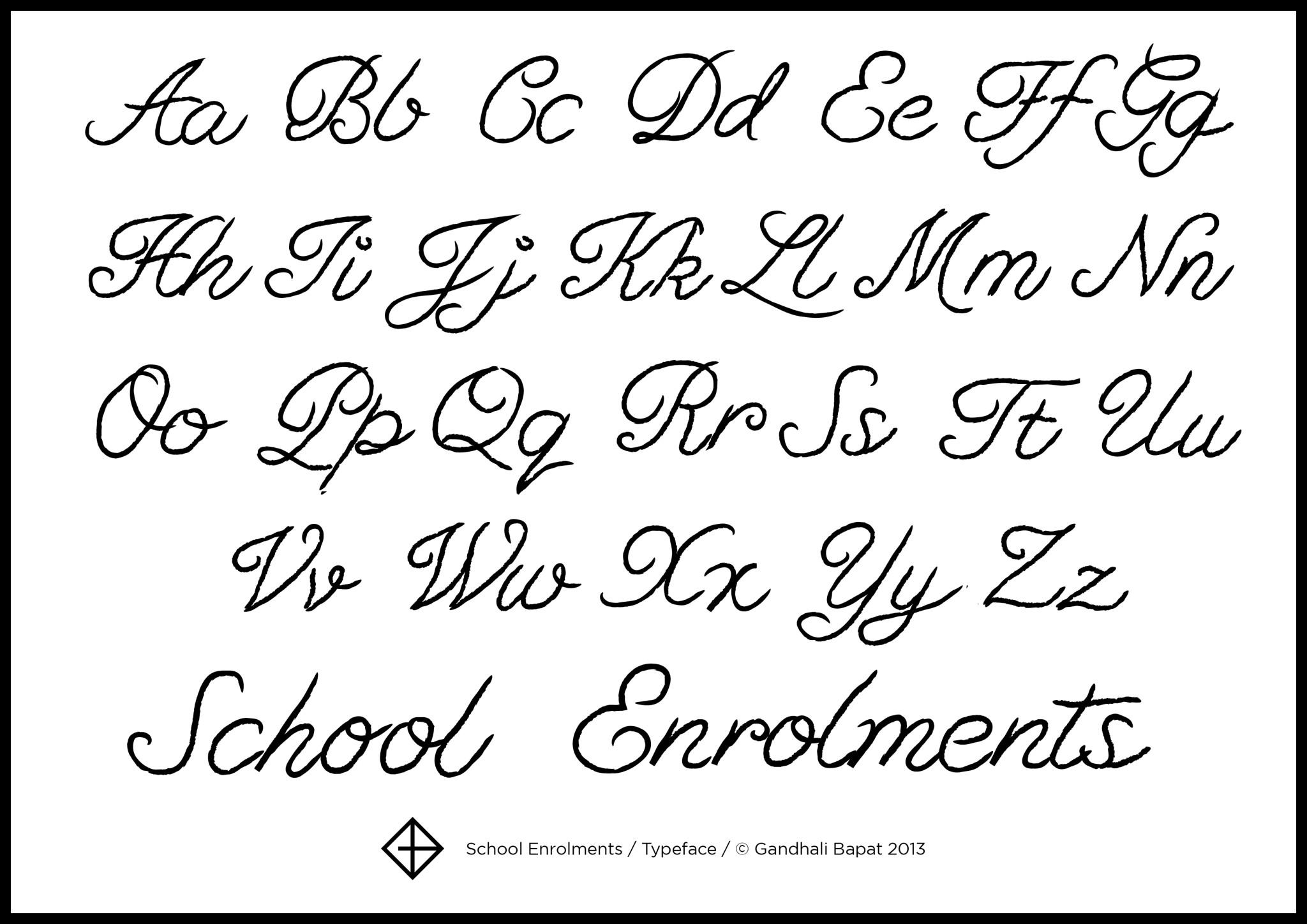 Fancy Cursive Fonts Alphabet Images | Crazy Gallery