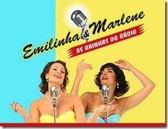 Emilinha e Marlene - As Rainhas do Rádio - cartaz da peça