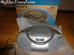 Sony CD player S350 10