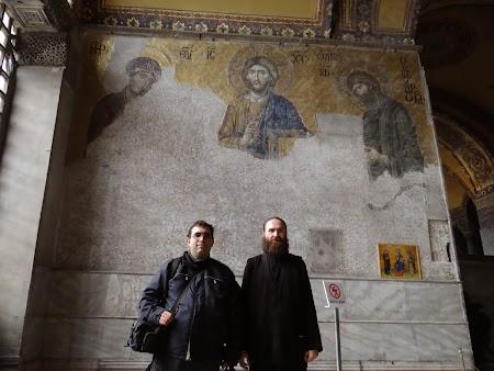 Obiective turistice Istanbul: Pictura murala Sf. Sofia