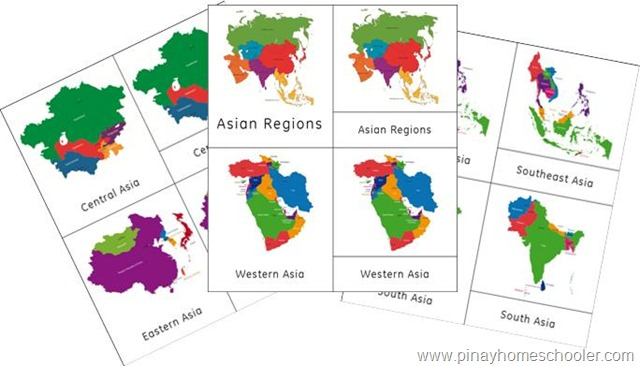 Asia Continent Maps