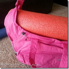 Apera Bag with Foam Roller