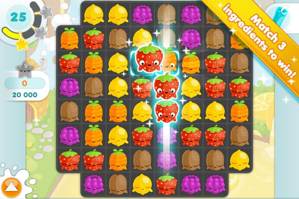 Jelly Glutton - Candy puzzle- screenshot