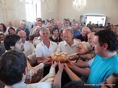 Обиљежена храмовна слава цркве Светог Василија Острошког у Наљежићима
