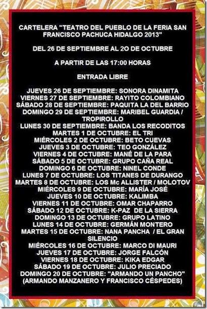 teatrodelpuebloferiadepachucahgo2013