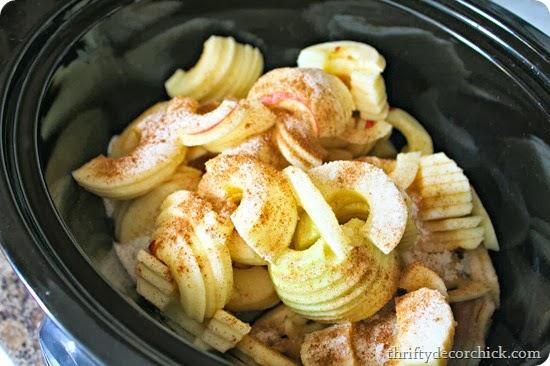 simple crock pot applesauce