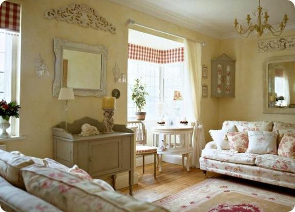 Shabby and charme una romantica casa inglese in perfetto for Case arredate foto