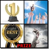 PRIZE- 4 Pics 1 Word Answers 3 Letters