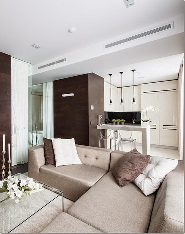 Piccoli spazi minimalismo in 60 mq case e interni for Casa moderna 60 mq
