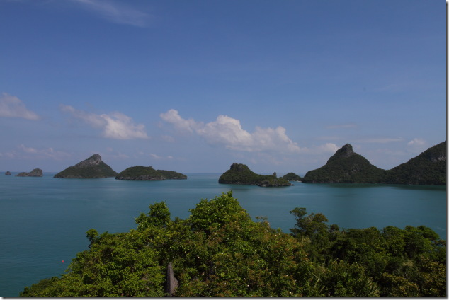 Angthong view from Moe Koh Island
