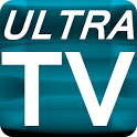 "Watch Live TV with ""ULTRA TV"" icon"