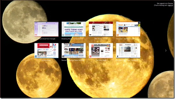chrome supermoon theme