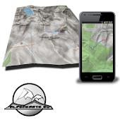 BERCHTESGADEN mountain map