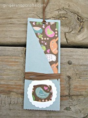 pocket bookmark birds