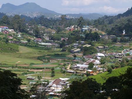Nuwara Eliya, statiunea de munte a Sri Lanka
