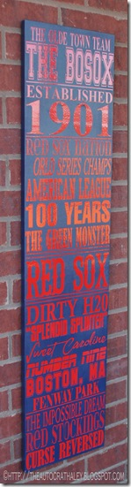 SUBWAY ART RED SOX (2)