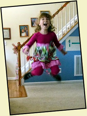 04 - Samantha Jumping for Joy