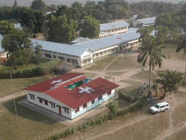 Hôpital général de Kabinda. Photo cap-sante.org.