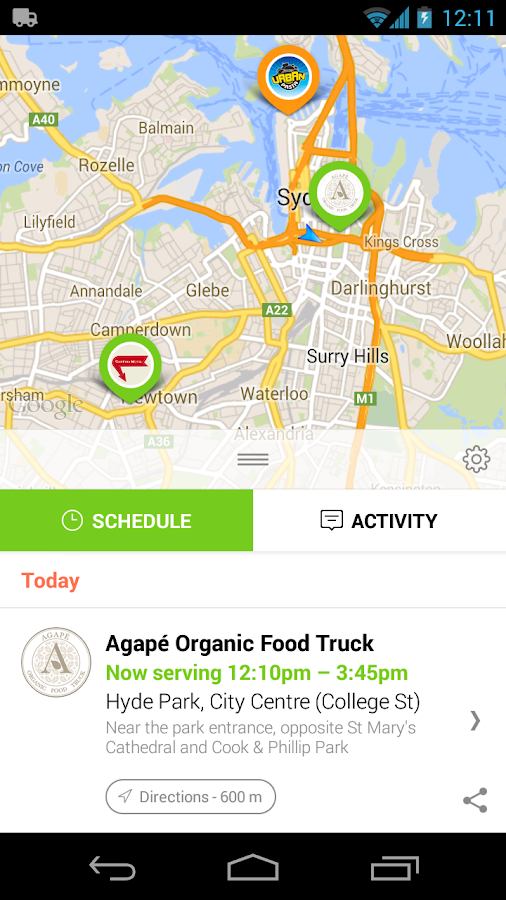 Sydney Food Trucks - screenshot
