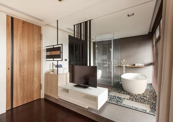 baño-decoracion-de-departamento-moderno-taiwan