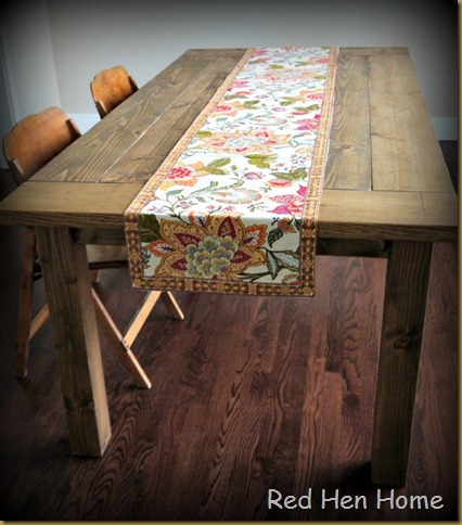 Red Hen Home Farmhouse Table 2